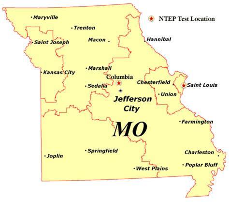 missouri state map missouri state map map3