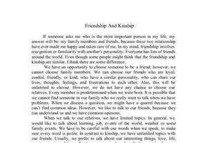 Friend Essay by Eessay For Respect