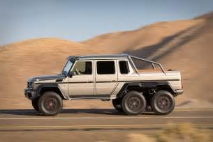Six Wheel Mercedes Upgrade Your Offroad Adventures With The Mercedes G63