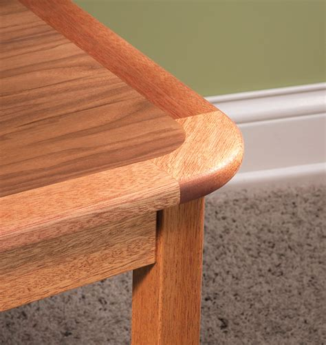 woodworking rounded corners curved corner edging popular woodworking magazine