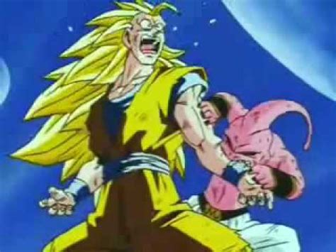 imagenes de goku vs kid buu goku vs bu 0001 youtube
