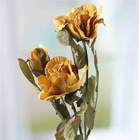 soft orange and muted green artificial rose spray floral muted green artificial rose spray floral sale sales