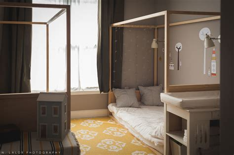 a gallery of children s floor beds apartment therapy a shared kids bedroom with diy montessori floor beds