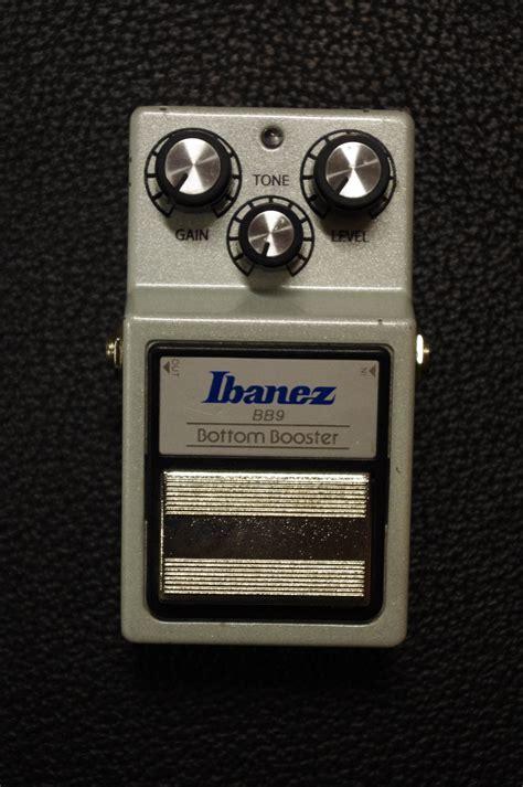 Ibanez 9 Series Bb9 Big Bottom Boost Guitar Effects Efek Pedal Origi ibanez bb9 big bottom boost image 1570779 audiofanzine