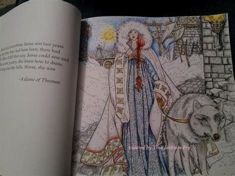 thrones colouring book coloured in 23 best images about coloring pages of thrones on