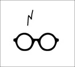 Harry Potter Lightning Scar Emoji Harry Potter Glasses And Scar Vinyl Decal By Corinnehanna2