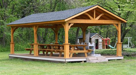 pavillon 6x6 wood pavilions lykens valley gazebos and outdoor living
