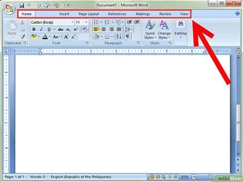layout word 2007 como usar o microsoft word 2007 17 passos com imagens