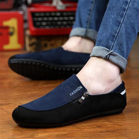 Sepatu Casual Slip On Pria Catenzo Da 020 aliexpress buy mens espadrilles 2017 summer fashion flat shoes casual shoes slip