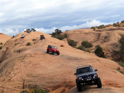 moab jeep trails off road paradise the slick rock trails of moab