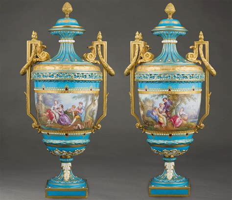 Sevres Vases by Sevres Vases Valentinagallery