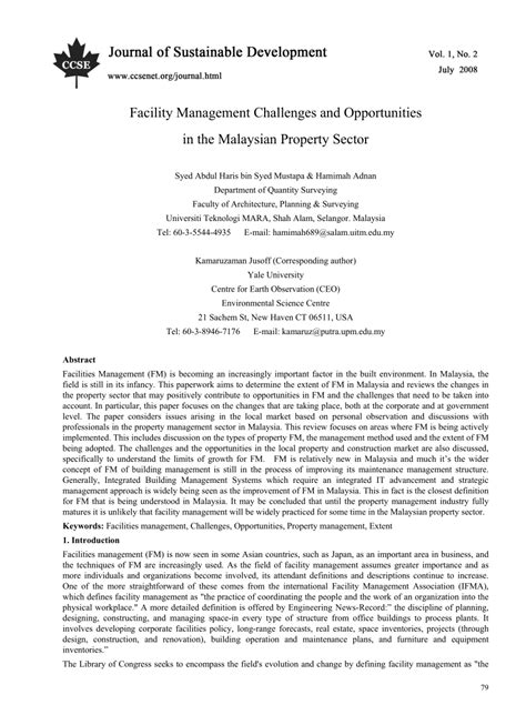 challenges in facility management facility management challenges and opportunities in the