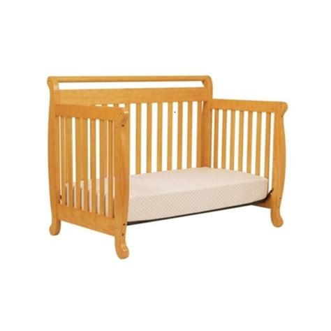 Davinci Emily 4 In 1 Convertible Wood Baby Crib In Honey Wood Convertible Cribs