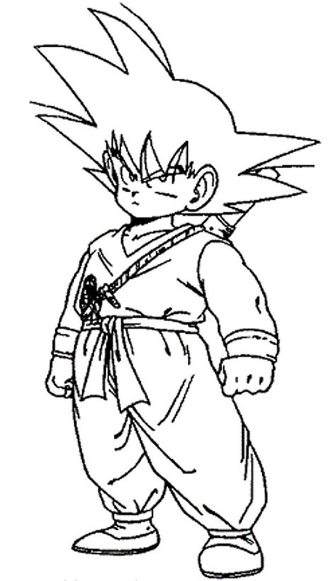 Printable Goku Coloring Pages Coloring Me Coloring Pages Goku