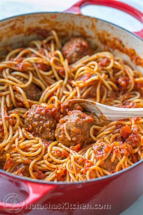 Camping Kitchen Ideas by Spaghetti And Meatballs Recipe Italian Spaghetti And