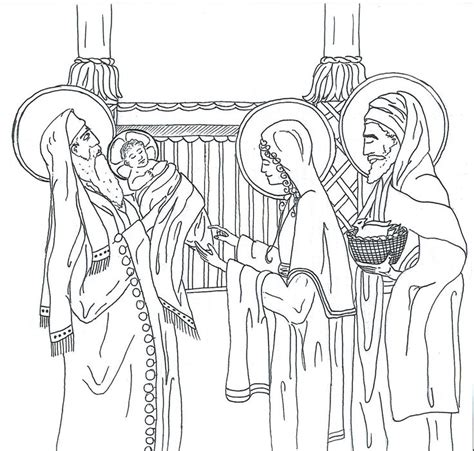 baby jesus presented at the temple coloring pages 487 best images about catholic coloring pages for to