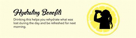 drinking lemon water before bed lemon water before bed 7 benefits of drinking lemon water at night