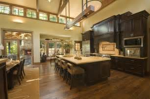 kitchen open to great room traditional kitchen great room kitchen designs great room kitchen designs and