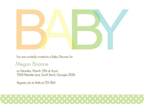 Simple Baby Shower Invites by Baby Shower Cards Simple Baby Boy Baby Shower Invite
