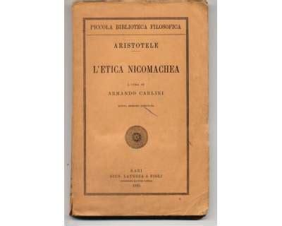 etica bari aristotele l etica nicomachea bari a firenze