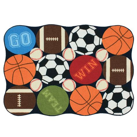 Sports Themed Area Rugs Sports Themed Rugs Roselawnlutheran