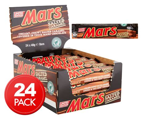 Mars Salted Caramel 24 x mars bars salted caramel 48g groceryrun au