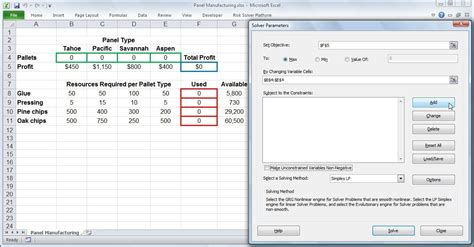 tutorial video on excel excel solver tutorial donttouchthespikes com