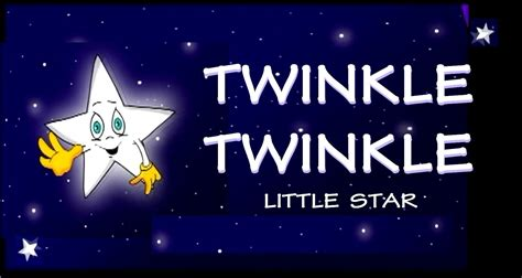 twinkle twinkle little star twinkle twinkle little star espa 209 ol con letra youtube