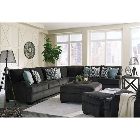 signature design sectional sofa signature design by charenton sectional sofa with