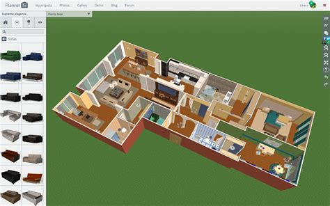 5d home design software planner 5d interior design chrome web store