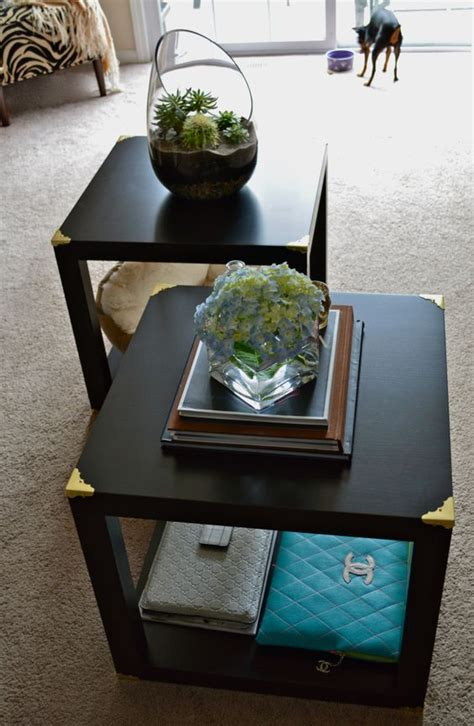 lack coffee table hack ikea hacks side tables and trunks on pinterest