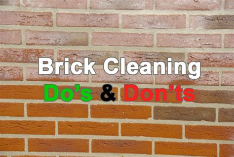 Brick Cleaning Do S And Don Ts Royal Stone Care Cleaning Brick Fireplace