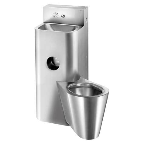 wc mit spülung und fön moduł kompact inox umywalka wc wiszące montaż ścienny z