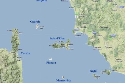 distanze tra porti cartine e mappe dell isola d elba
