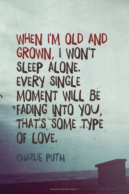 charlie puth some type of love lyrics 155 best images about song lyrics on pinterest ariana