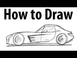 How To Draw A Mercedes Sls Amg How To Draw A Mercedes Sls Amg Sketch It