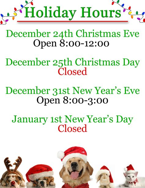printable christmas hours sign holiday hours sign the best holiday 2017