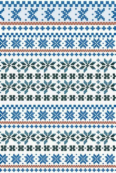 fair isle knitting free patterns fair isle pattern 1 by gin via flickr crafts strand