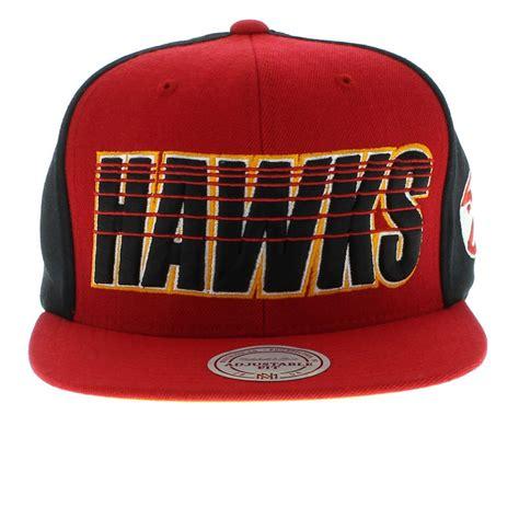 atlanta hawks colors atlanta hawks the linear snapback team colors by