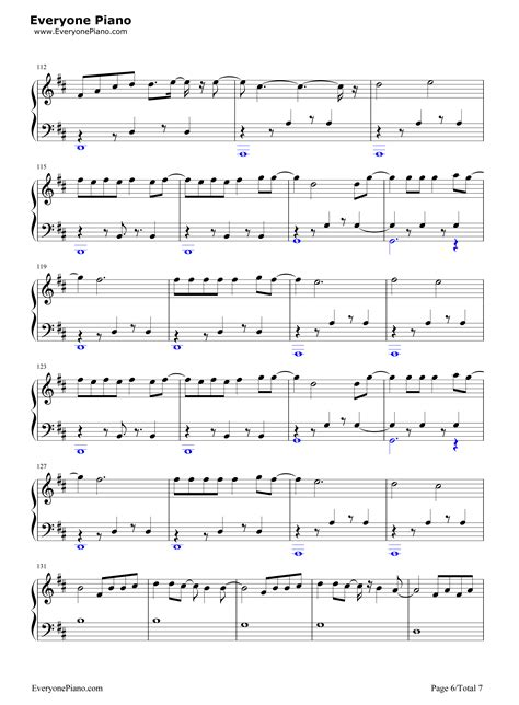 despacito on piano despacito luis fonsi stave preview 6 free piano sheet