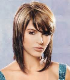 above shoulder tapered around hairstyle carr 233 plongeant mi long la coiffure tendance du moment
