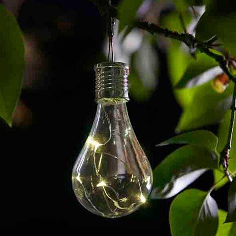 Eureka Solar Powered Lightbulb Lantern 6 Pack Smart Garden Solar Powered Light Bulbs