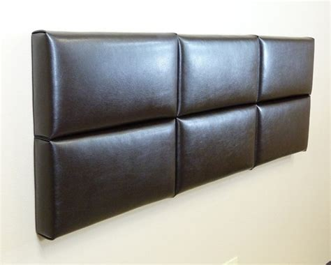 headboard leather faux leather diy headboard staging ideas pinterest