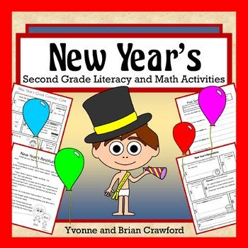 new year literacy activities new year s math and literacy activities second grade