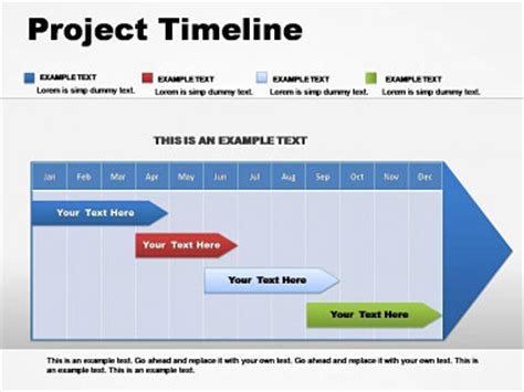 project timeline powerpoint charts imaginelayout com