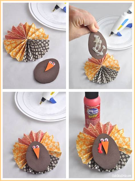 Paper Flower Craft Tutorial - thanksgiving paper flower jar gift idea