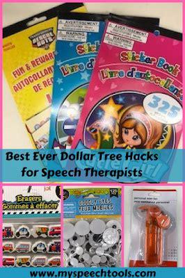 dollar tree hacks my speech tools dollar tree hacks and bargains for speech