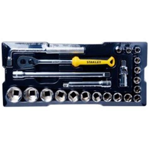 K Kunci Sok 10pcs Tekiro Set 12pt Box Metal 10 Pcs Box Metal stanley 89 509 43 pcs 1 2 inch drive kunci sok 1 set