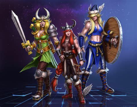 Mainan Figure Valeera Sanguinar Transmog World Of Warcraft genderbend lost vikings by zfischerillustrator on deviantart
