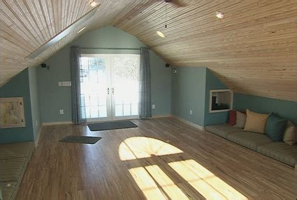 finished attic bedroom your own home yoga room dig this design